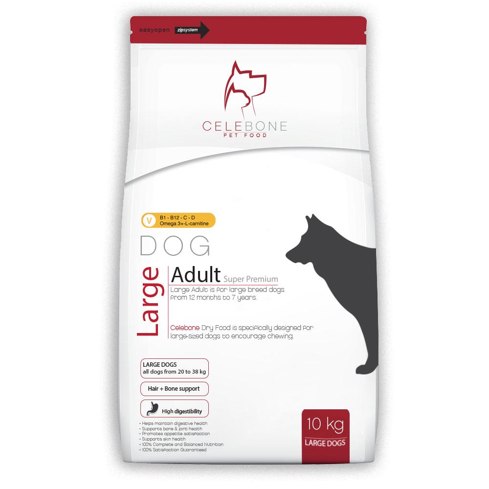 غذای خشک سگ بزرگ بالغ سوپر پریمیوم ۱۰ کیلویی